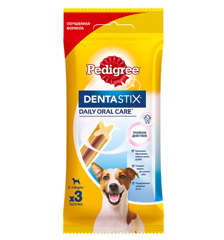 Pedigree DentaStix лакомство для собак мелких пород 45 г