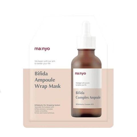 Антивозрастная Маска Для Лица MANYO FACTORY Bifida Ampoule Wrap Mask