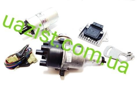 Бесконтактное зажигание (БСЗ) УАЗ 452, 469 (полный комплект) (пр-во МЗАТЭ-2)