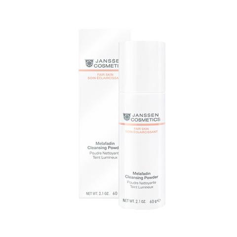 Осветляющая очищающая пудра для всех типов кожи Melafadin Cleansing Powder, Fair skin, Janssen Cosmetics, 60 гр