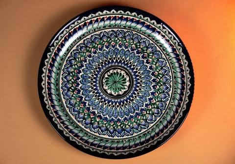 Ляган узбекский узор 38 см