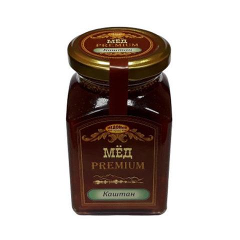 Каштановый натуральный мёд 330 г