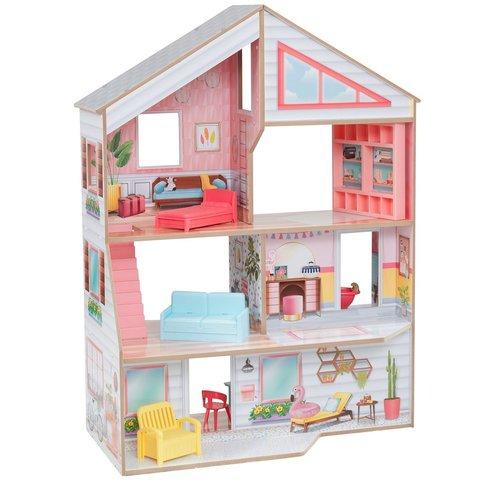 KidKraft Чарли - кукольный домик с мебелью 10064_KE
