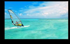 """Постер """"Морской серфинг"""""""