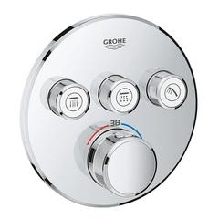Термостат для душа встраиваемый на 3 потребителя Grohe Grohtherm SmartControl 29121000 фото
