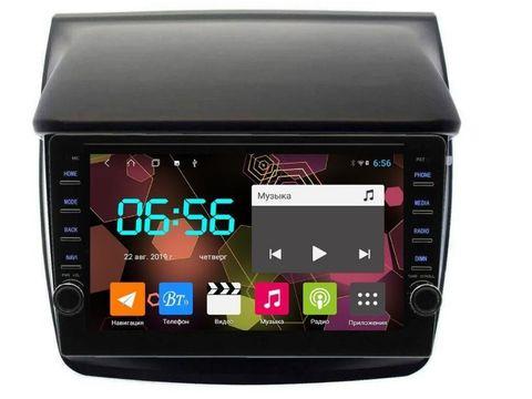 Магнитола для Mitsubishi Pajero L200 Android 8.1 4/64 IPS DSP модель CB2171T9