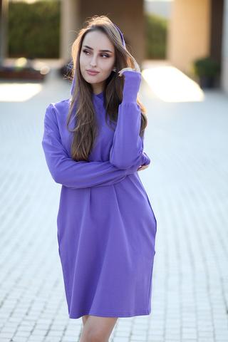 Фиолетовое худи nadya