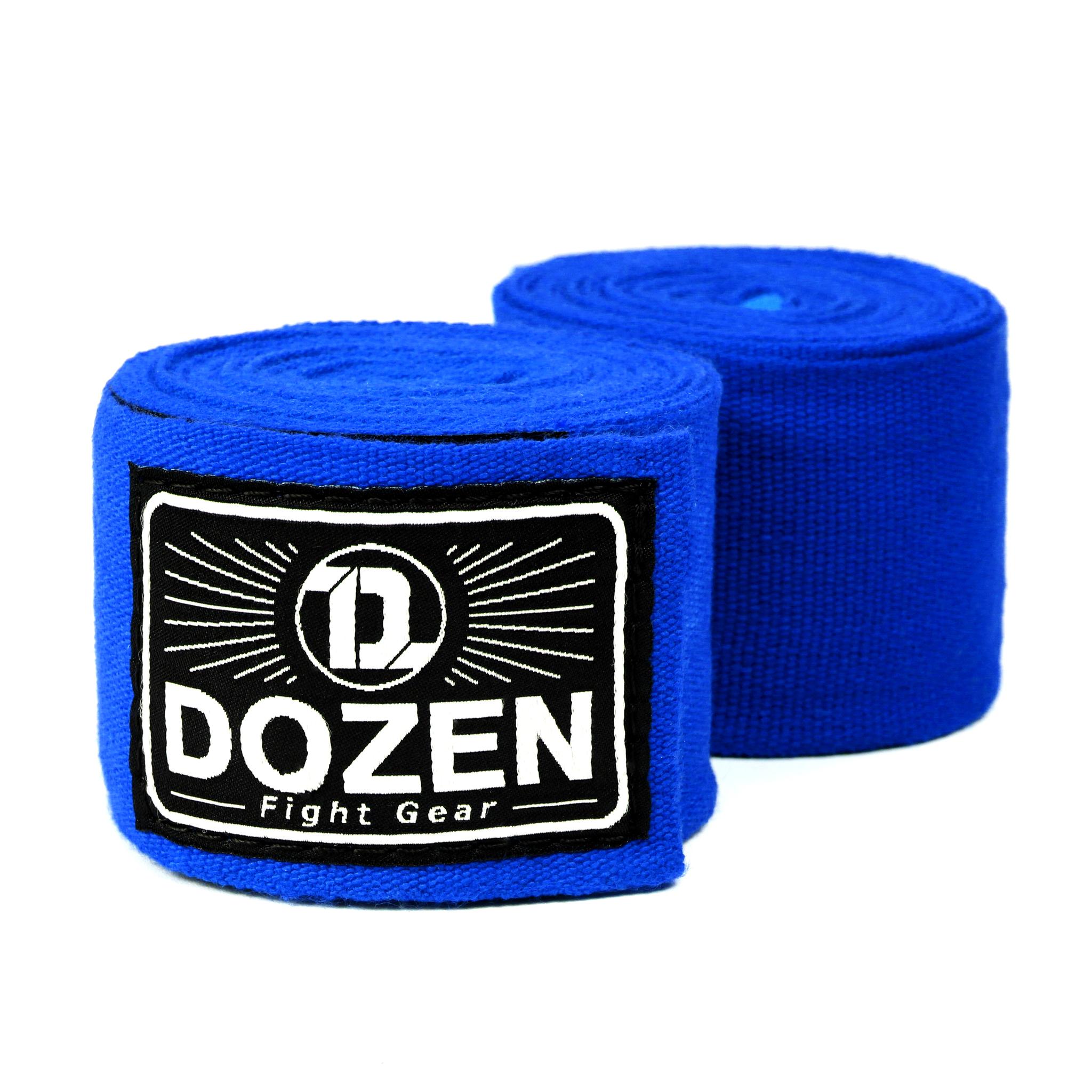 Бинты синие Dozen Monochrome Ultra-elastic главный вид