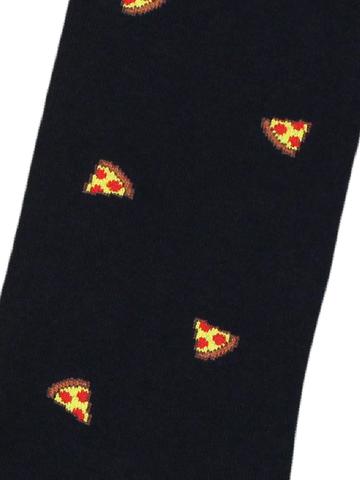Носки Пицца черные