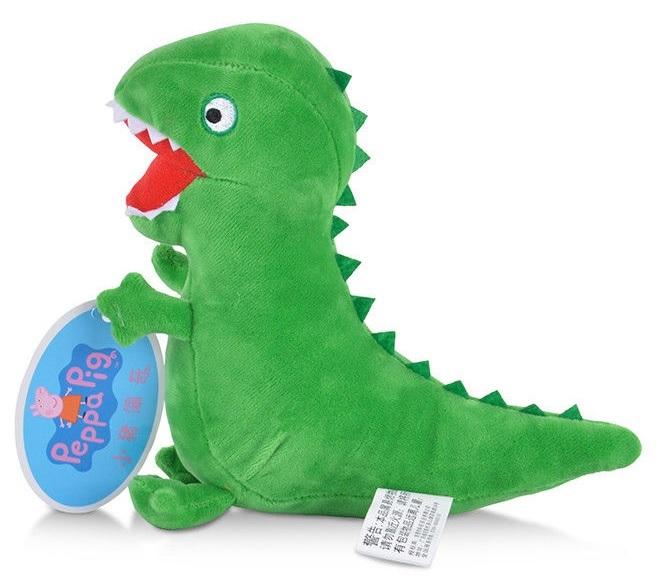 Розовая Свинка набор мягких игрушек Динозавр и Медвежонок