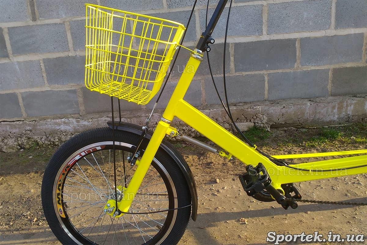 Передняя корзинка на велосипедах 'Атлет'