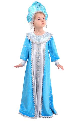 Карнавальный костюм детский Снегурочка Сударушка
