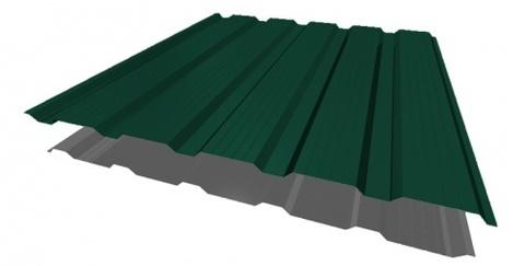 Профнастил НС21х1170 мм RAL 6005 Зеленый мох