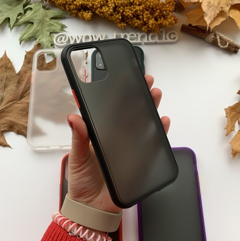 Чехол iPhone 12 Pro Max /6,7''/ iPaky Cucoloris /black/