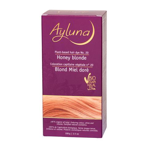 АИЛУНА Краска для волос №20 «МЕДОВЫЙ БЛОНДИН» растительная, 100 г