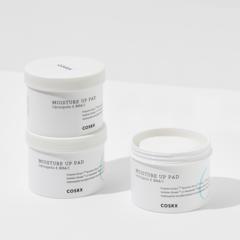 Увлажняющие и отшелушивающие диски с гиалуроновой кислотой и прополисом, 70 шт. / Cosrx One Step Moisture Up Pad