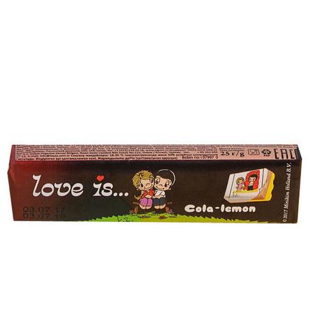 Жевательная конфета LOVE IS со вкусом Кола-лимон 25 г