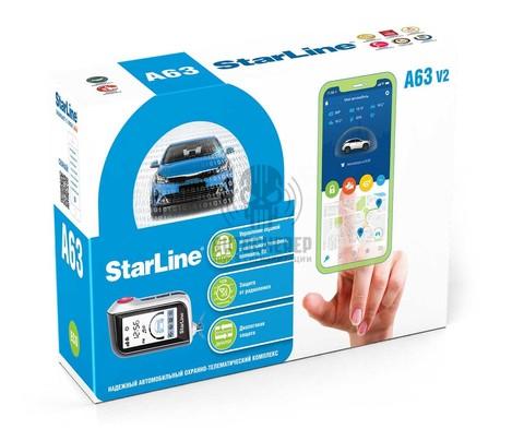 Автосигнализация StarLine A63v2 2CAN+2LIN ECO