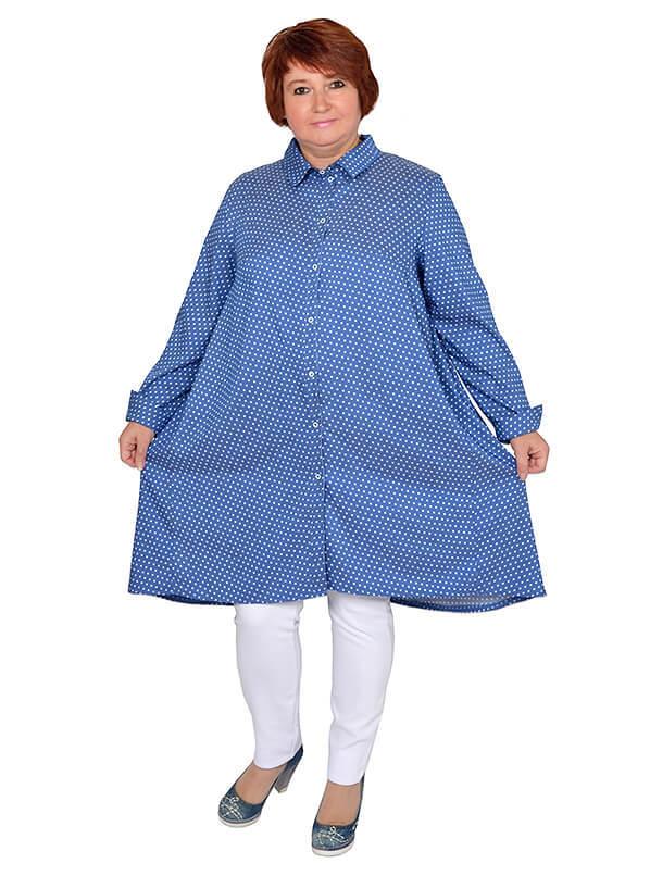 Платье-рубашка Бонни