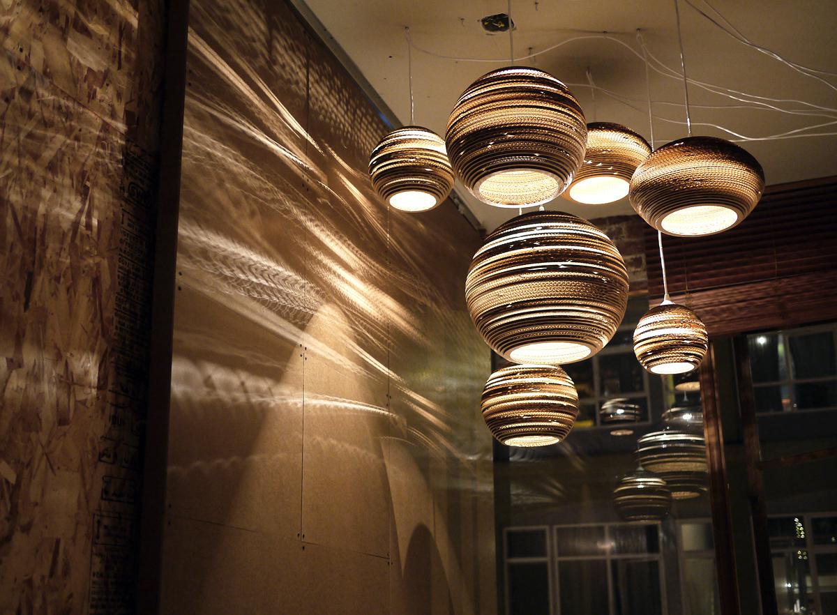Подвесной светильник Drop Scraplight by Graypants D25