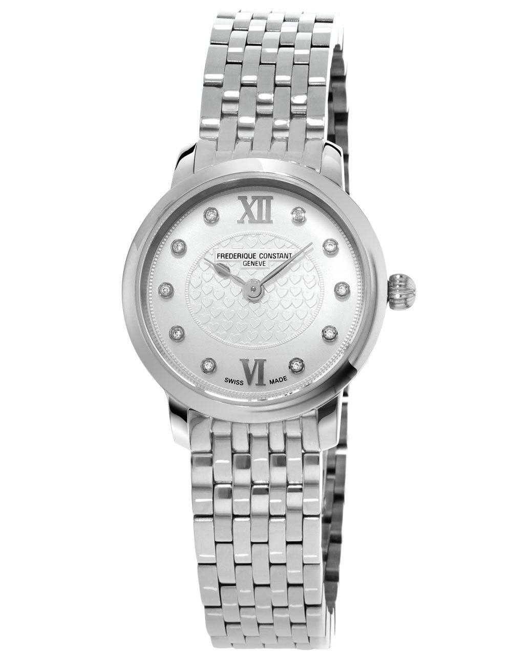 Часы женские Frederique Constant FC-200WHDS6B Slimline Ladies