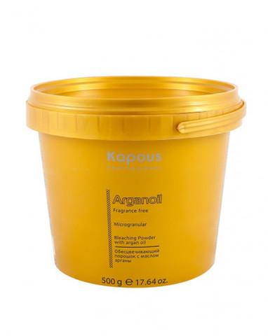 Обесцвечивающий порошок для волос с маслом арганы, 500 г