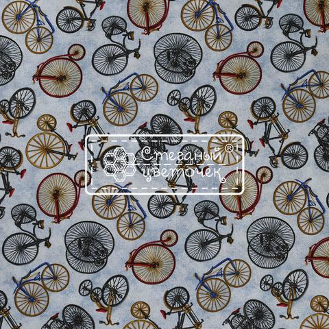 Ткань для пэчворка, хлопок 100% (арт. X0805)
