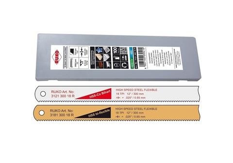 Полотно по металлу Ruko д/ножовки HSS Bi-flexble 300мм 32z 318130032R (В)