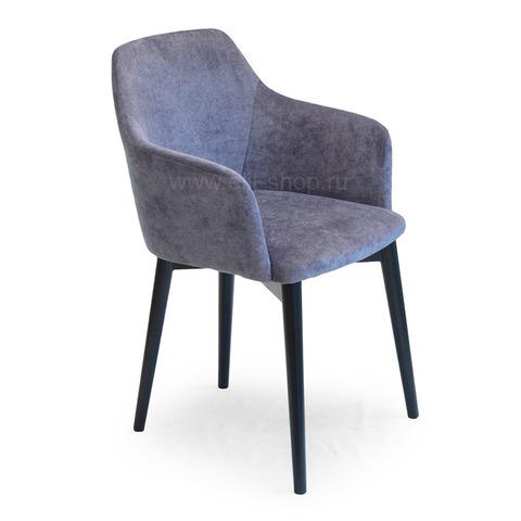 Кресло КАННА 110 Венге / обивка  Velvet Lux №44