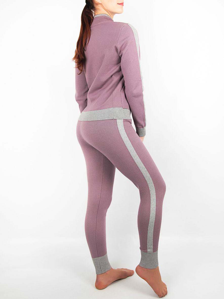 Комплект женский кофта на молнии с брюками