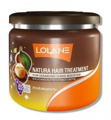 Лечебная маска для сухих волос с маслом макадамии LOLANE
