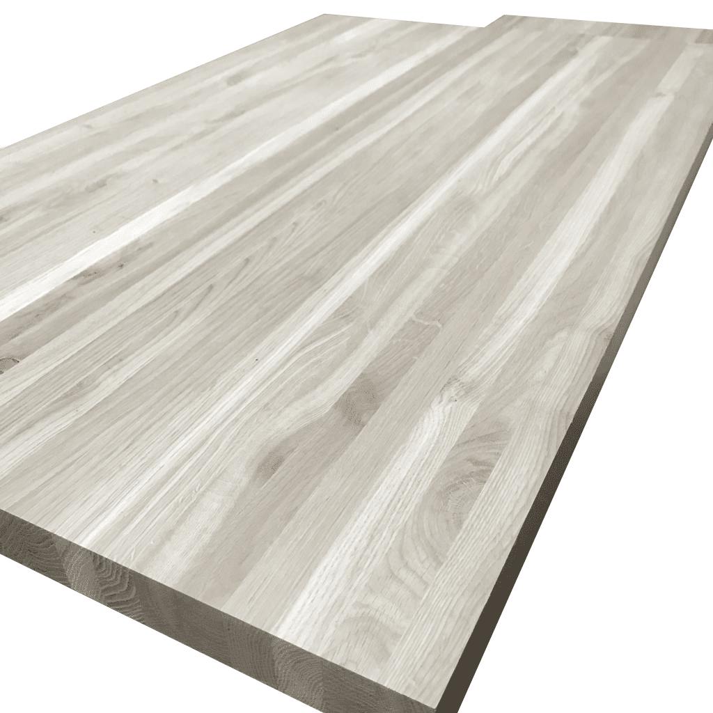 Мебельный щит из дуба ( узкая ламель ) Цельноламельный