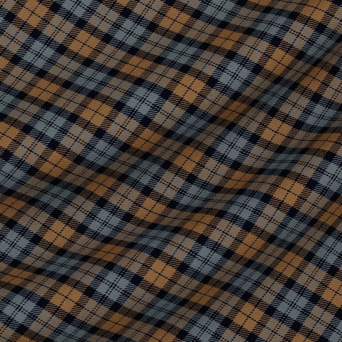 Классическая шерстяная ткань в двуцветную клетку