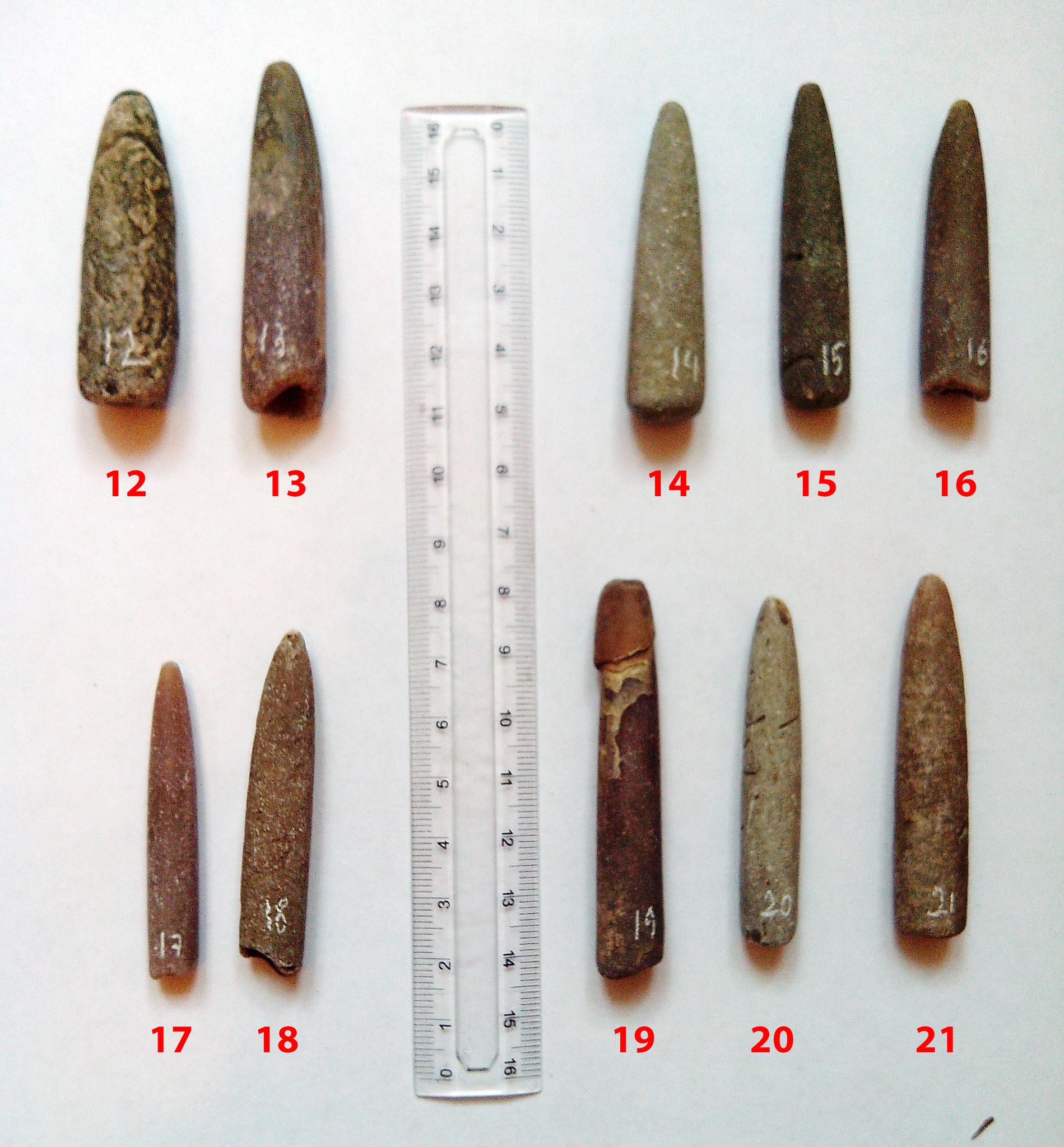 Белемнит необработанный. 5-6 см