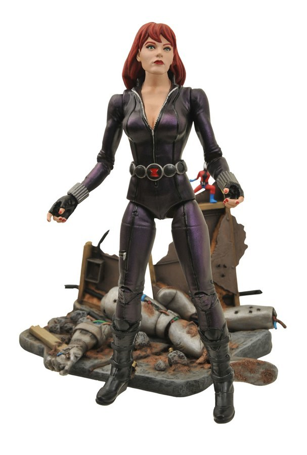 Марвел Селект фигурка Черная Вдова — Marvel Select Black Widow