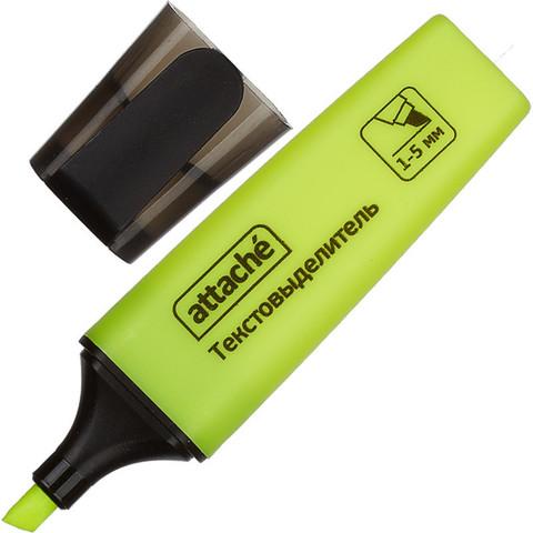 Текстовыделитель Attache Colored желтый (толщина линии 1-5 мм)