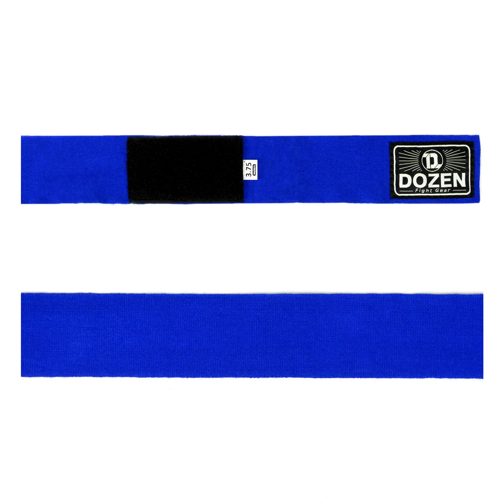 Бинты синие Dozen Monochrome Ultra-elastic вид ленты