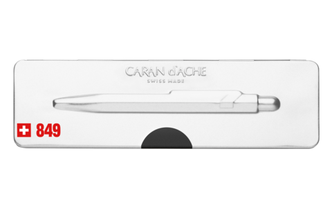 Carandache Office 849 Pop Line - Black, шариковая ручка, M