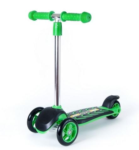 Трехколесный самокат MIDI ORION зеленый