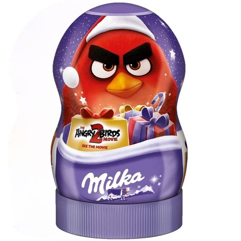 Шоколадные конфеты Milka Angry Birds с сюрпризами Red 81 гр