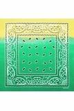 Зеленый градиент бандана фото
