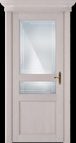 CLASSIC 533 Дуб Белый стекло Грань