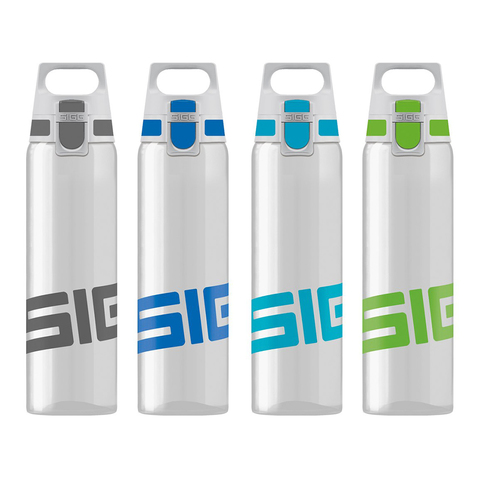 Бутылка Sigg Total Clear One (0,75 литра), зеленая