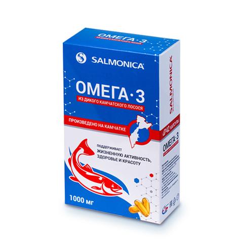 ОМЕГА-3 из камчатского лосося (42 капсулы)
