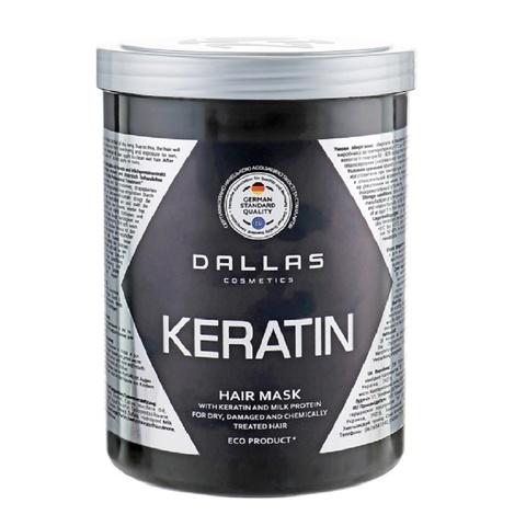 Dallas Крем маска KERATIN с Кератином и молочными протеинами, 70г..