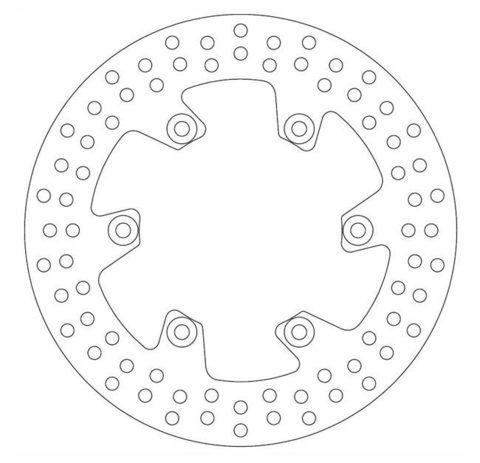 Тормозной диск Ferodo FMD0023R, 1 шт.