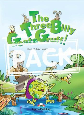 The Three Billy Goats Gruff PACK (story book + CD)