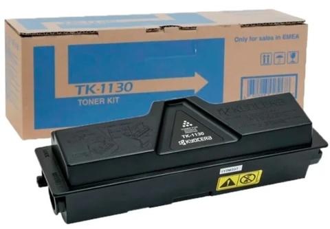 Оригинальный картридж Kyocera TK-1130 (1T02MJ0NL0/1T02MJ0NLC) черный