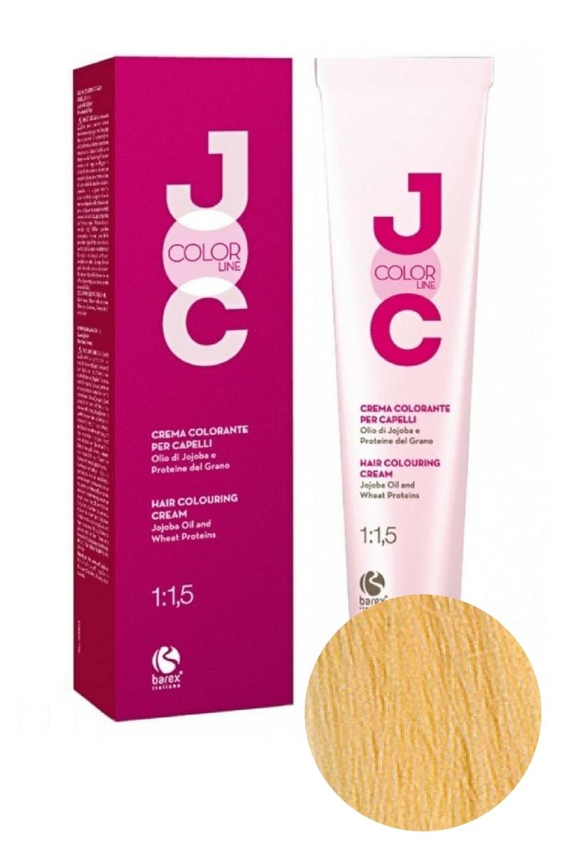 Крем-краска для волос 11.00 платиновый блондин натуральный JOC COLOR, Barex