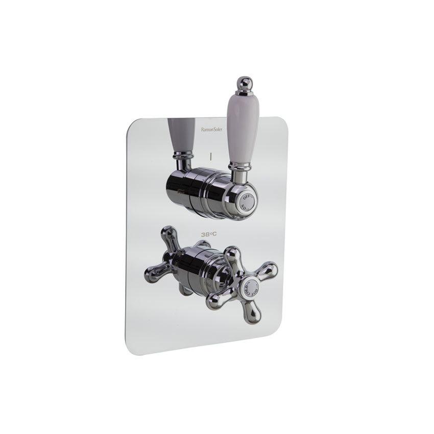 Встраиваемый термостатический смеситель для душа GAUDI 302411S на 1 выход
